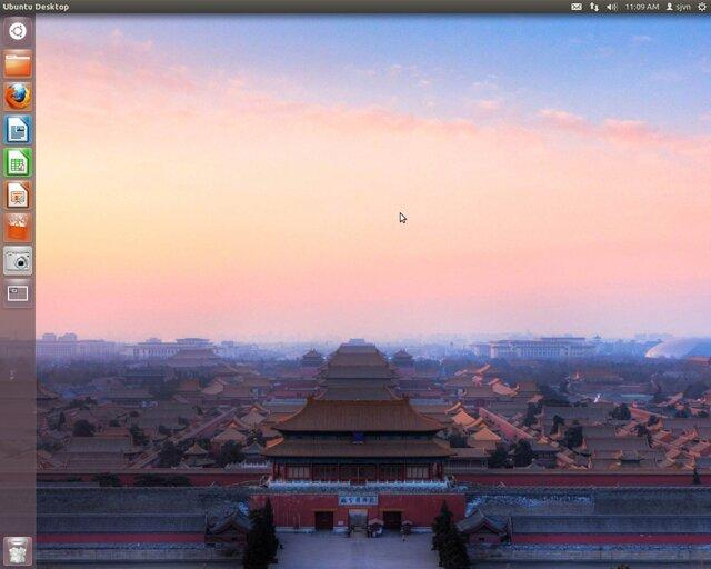 интерфейс Ubuntu