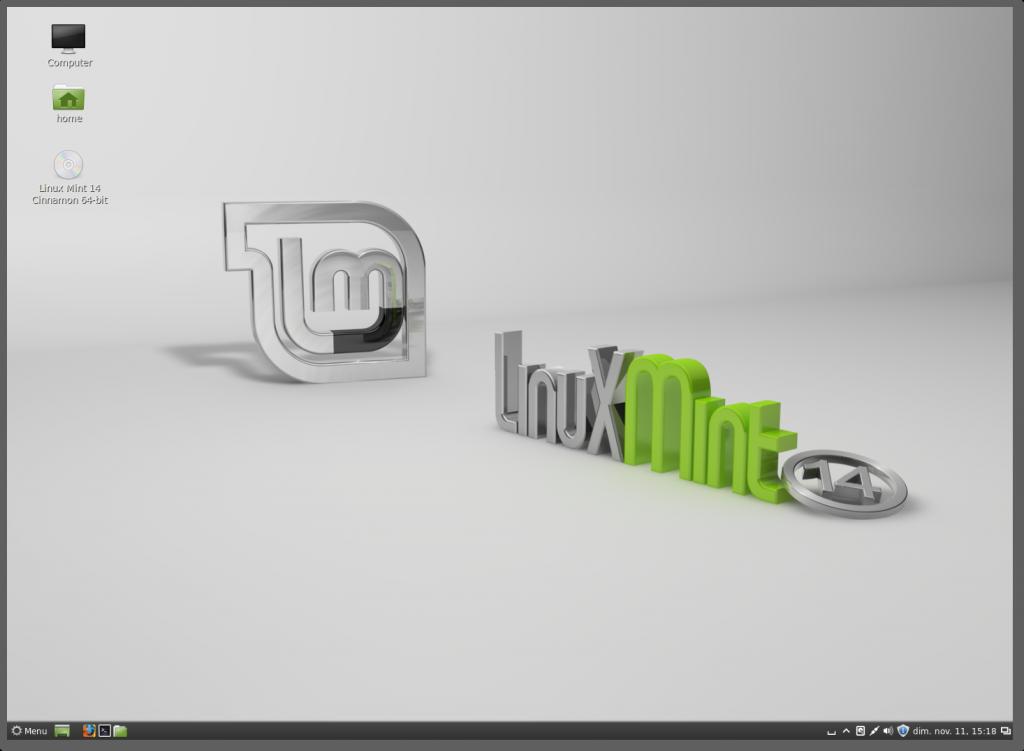 Linux Mint 14 - Cinnamon 1.6